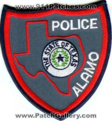 Texas - Alamo Police (Texas) - PatchGallery com Online