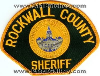 Texas - Rockwall County Sheriff (Texas) - PatchGallery.com ...
