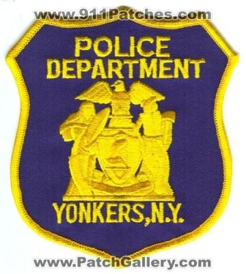 Yonkers Fire Department Patch