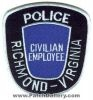 Richmond_Police_Civilian_Employee_Patch_Virginia_Patches_VAPr.jpg