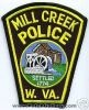 Mill_Creek_Police_Patch_West_Virginia_Patches_WVP.JPG