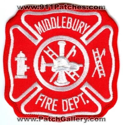 Indiana - Middlebury Fire Department Patch (Indiana) - PatchGallery