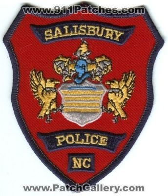SALISBURY NORTH CAROLINA FIRE DEPARTMENT PATCH