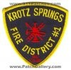 krotz springs dating site The history of krotz springs as a community begins at the turn of the century with the coming to st landry parish of col charles w krotz cw krotz was born in 1856 in defiance, ohio and arrived in this area in 1899 in 1900 col krotz drilled the first oil well in the parish (possibly the first in the state.