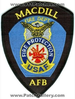 Florida - Macdill Air Force Base AFB Fire Department USAF