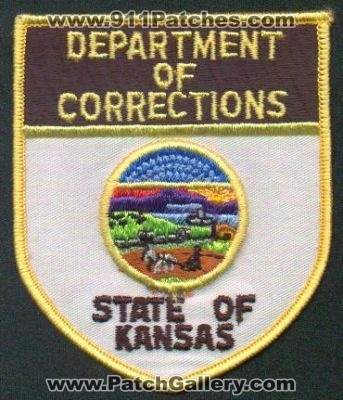 Kansas Kansas Department Of Corrections Patchgallery Com
