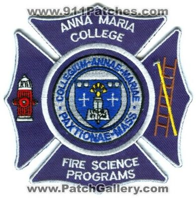 Fire Science what are major subjects in college