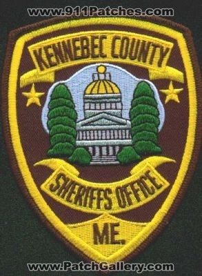 Maine - Kennebec County Sheriff's Office - PatchGallery ...