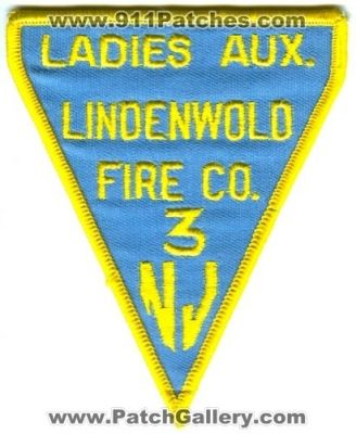 New Jersey - Lindenwold Fire Company 3 Ladies Auxiliary (New