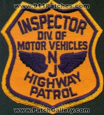 New jersey new jersey highway patrol division of motor for Department highway safety motor vehicles