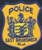East Brunswick Police Patch