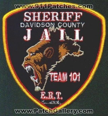 North Carolina - Davidson County Sheriff Jail E R T  Team