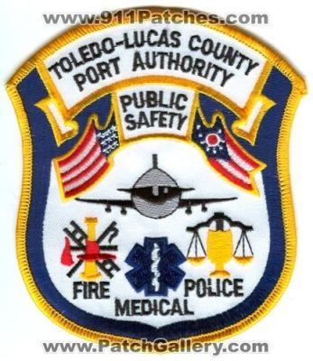 "fire shoulder police patch Ohio 4.25/"" x 3.75/"" *NEW*  Fairport Harbor  K-9"