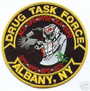 New York - Albany Drug Task Force - PatchGallery com Online