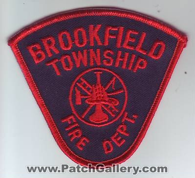 Ohio - Brookfield Township Fire Department (Ohio) - PatchGallery com