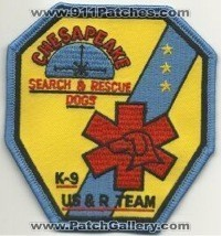 Chesapeake K-9 US&R Team (Delaware)