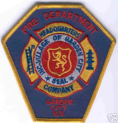 Image result for garden city ny fire department log