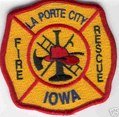 Iowa la porte city fire rescue online for Laporte tx police dept