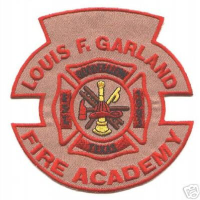 louis f garland fire academy