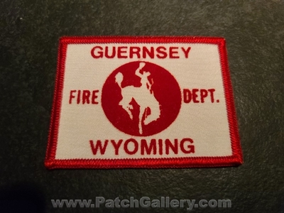 Guernsey Fire Department Patch (Wyoming)