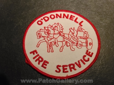 ODonnell Fire Service Patch (Montana)