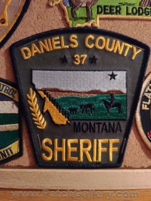 Daniels County Sheriffs Office 37 Patch (Montana)