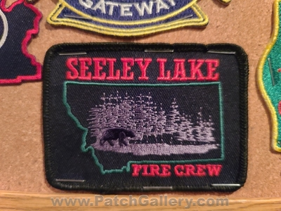 Seeley Lake Fire Crew Patch (Montana)