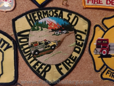 Hermosa Volunteer Fire Department Patch (South Dakota)