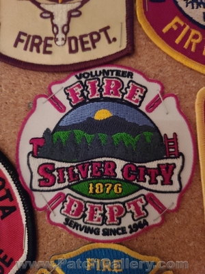 Silver City Volunteer Fire Department Patch (South Dakota)