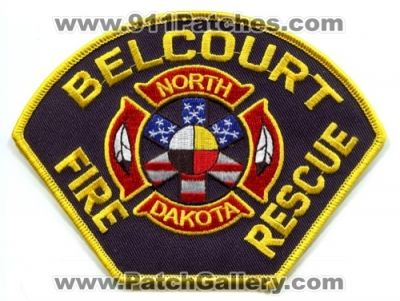 Belcourt Fire Rescue Department Patch (North Dakota)