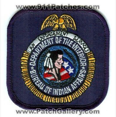 Washington dc bureau of indian affairs law enforcement services washington dc patchgallery - Interior bureau of indian affairs ...