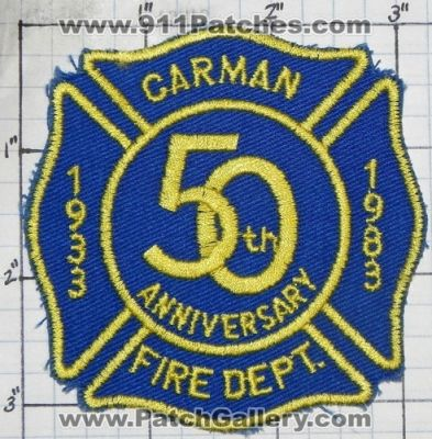 New York - Carman Fire Department 50th Anniversary (New ...