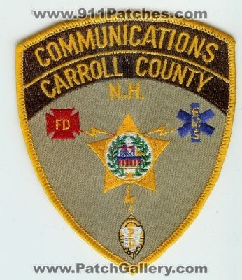 New Hampshire - Carroll County Communications Fire EMS Police (New