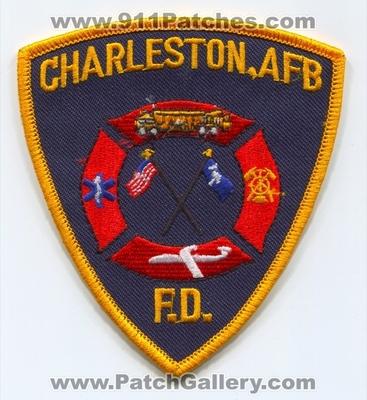 South Carolina - Charleston Air Force Base AFB Fire Department USAF