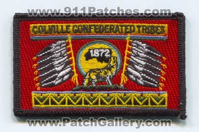Colville Confederated Tribes Flag Patch (Washington)