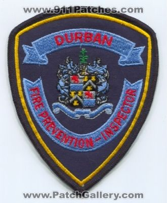 Durban Fire Prevention Inspector (South Africa)