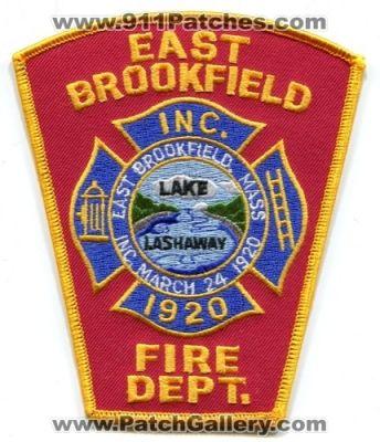 Massachusetts - East Brookfield Fire Department (Massachusetts