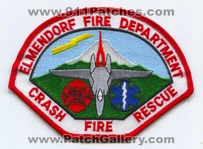 Alaska - Elmendorf Air Force Base AFB Fire Department CFR
