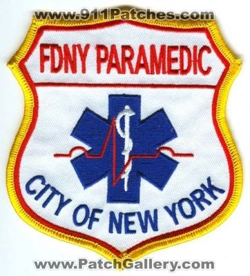FDNY Firefighter shirts, patches and pins EMS EMT