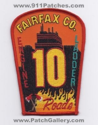 Fairfax county fire station patches