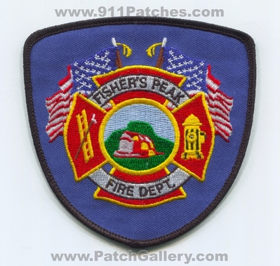 Fishers Peak Fire Department Patch (Colorado)