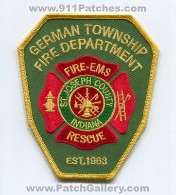 Indiana - German Township Fire Department Saint Joseph
