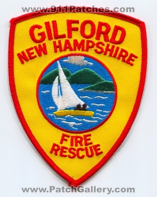 New Hampshire - Gilford Fire Rescue Department Patch (New Hampshire