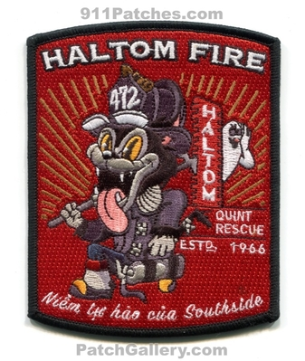 Haltom City Fire Department Quint 472 Patch (Texas)