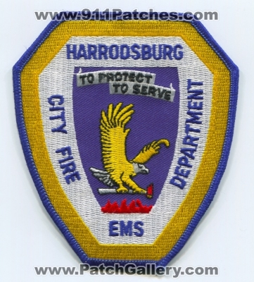 Kentucky - Harrodsburg Fire EMS Department Patch (Kentucky
