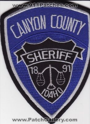 Idaho - Canyon County Sheriff (Idaho) - PatchGallery com Online