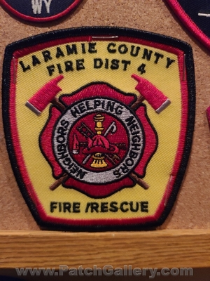 Laramie County Fire District 4 Patch (Wyoming)