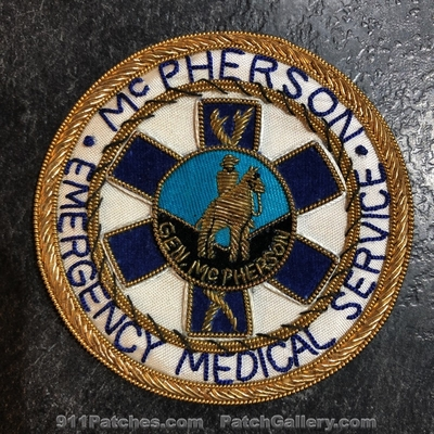 McPherson Emergency Medical Services EMS Patch (Missouri) (Bullion)