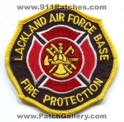 Texas Lackland Air Force Base Fire Protection