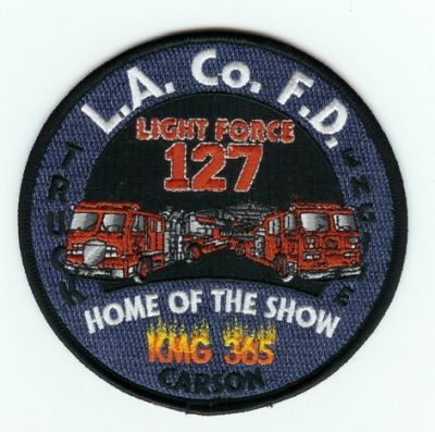 La County Fire Station 127 Patch